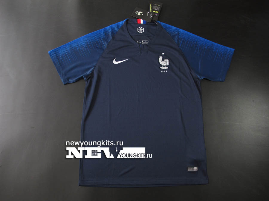 2018 World Cup France home jersey -  17.00   newyoungkits.ru d9541b777