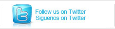 Follow us on Twitter Siguenos en Twitter